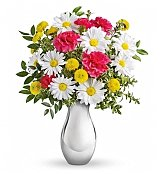 -Geo Low Price: Silver Reflections Bouquet